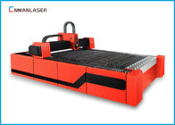 Çin 1500w Red  Digital Small Cnc Fiber Laser Cutting Machine For Steel Metal Fabrika