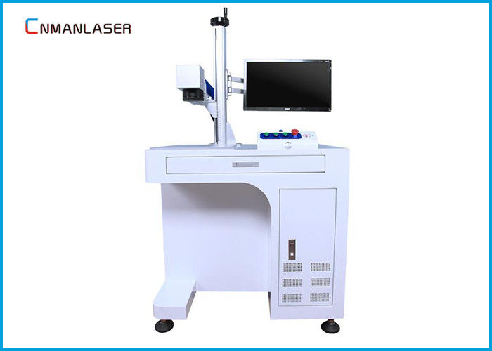 Air Cooling Metal Jewellery Laser Marking Machine 100*100mm 20w